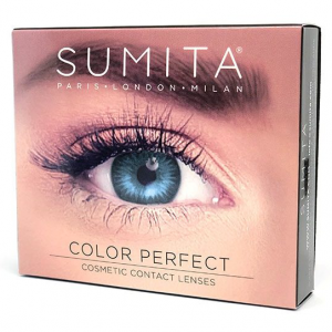 Sumita Cosmetics Color Contact Lenses (Blue) - Sumita Makeup Products Australia