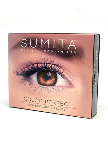Sumita Cosmetics Color Contact Lenses (Brown) - Sumita Makeup Products Australia