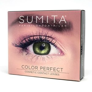 Sumita Cosmetics Color Contact Lenses (Gemstone Green) - Sumita Makeup Products Australia