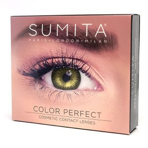 Sumita Cosmetics Color Contact Lenses (Green) - Sumita Makeup Products Australia