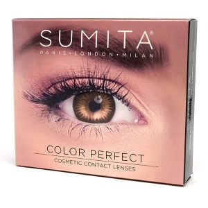 Sumita Cosmetics Color Contact Lenses (Honey) - Sumita Makeup Products Australia