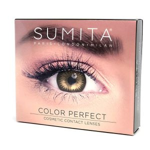 Sumita Cosmetics Color Contact Lenses (Pure Hazel) - Sumita Makeup Products Australia