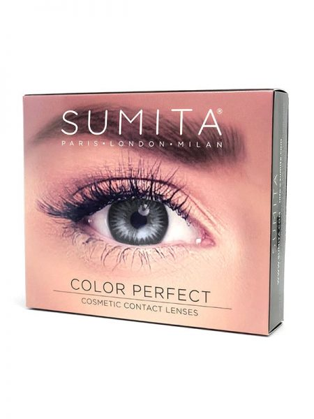 Sumita Cosmetics Color Contact Lenses (Sterling Gray) - Sumita Makeup Products Australia