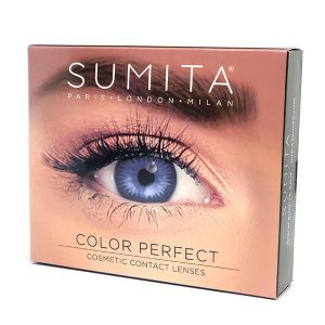 Sumita Cosmetics Color Contact Lenses (True Sapphire) - Sumita Makeup Products Australia