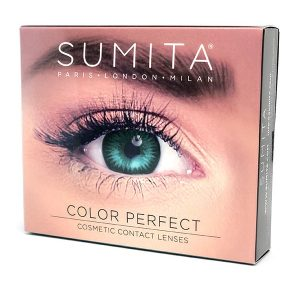 Sumita Cosmetics Color Contact Lenses (Turquoise) - Sumita Makeup Products Australia